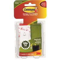 Command 17042 Saw tooth Picture Hanger