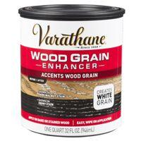 ENHANCER WOOD GRAIN WHITE 1QT