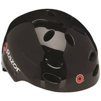 HELMET YOUTH GLOSS BLACK RAZOR