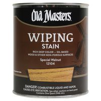 Old Masters 12104 Oil Based Wiping Stain