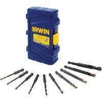 Irwin 1881324 1-Piece Corrosion Resistance Impact Drill Bit Set