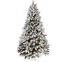 TREE NBLE FIR PRELIT CLR 4.5FT