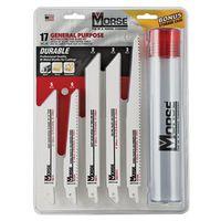 MK Morse RBKITGP01 Bi-Metal Reciprocating Saw Blade Set