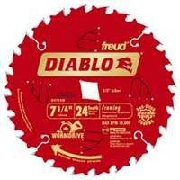 Diablo D0724W Circular Saw Blade
