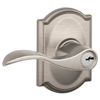 ENTRY ACCENT SATIN NICKEL CAME