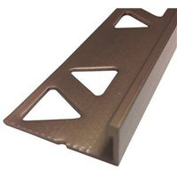 TILE EDGE 3/8X8FT COPPR BRONZE