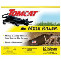 MOLE KILLER WORM BAIT BOX 10PK