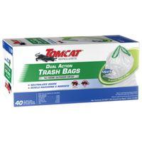 BAG TRASH DUAL ACTN 40CT 13GAL