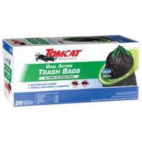 BAG TRASH DUAL ACTN 26CT 30GAL