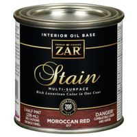 STAIN MSRFC MOROCCAN RED 1/2PT