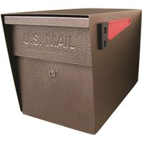 Mail Boss 7108 Packagemaster Curbside Ultimate Locking  Mailbox
