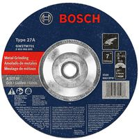 Bosch GW27M701 Type 27 Depressed Center Grinding Wheel
