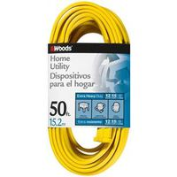 Woods 0838 Flat SPT-3 Extension Cord
