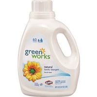 Clorox Green Works Dishwashing Free and Clear Laundry Detergent