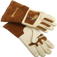GLOVE WELDING MENS LEATHER LRG