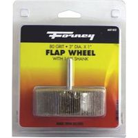 WHEEL FLAP MOUNT 80 GRIT 3X1IN