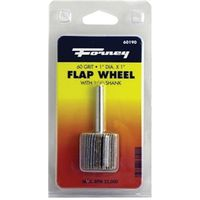 WHEEL FLAP MOUNT 60 GRIT 1X1IN