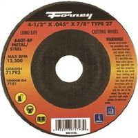 CUTOFF WHEEL TYP27 STEEL 4.5IN