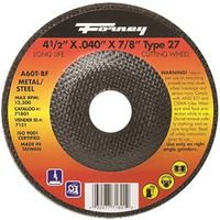 CUTOFF WHEEL TYPE27 4.5X.040IN