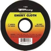 CLOTH EMERY 80GRIT 1INX10YARD