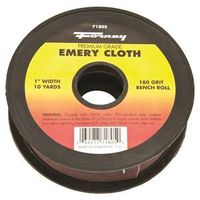 CLOTH EMERY 180GRIT 1INX10YARD