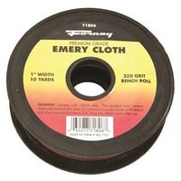 CLOTH EMERY 320GRIT 1INX10YARD