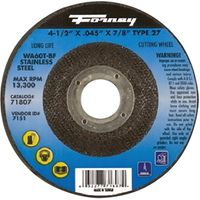 CUTOFF WHEEL SS 4.5X.045X7/8IN