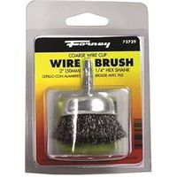 BRUSH CUP CRIMPD WIRE 2X.012IN