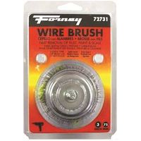 BRUSH CUP CRIMPD WIRE 3X.012IN