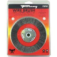 BRUSH WIRE WHEEL FINE 6X.008IN