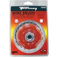 BRUSH CUP WIRE KNOT 4X.012INCH