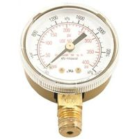 GAUGE 2IN ACETY HP 0-400 PSI