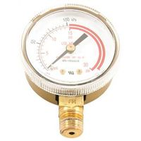 GAUGE 2IN ACETY LP 0-30 PSI