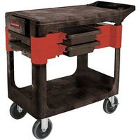 Rubbermaid FG618000BLA Trades Cart. 38Lx19-1/4Wx33-3/8H