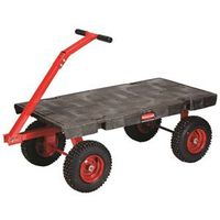 Rubbermaid FG447700BLA Wagon Truck