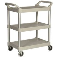 Rubbermaid FG342488PLAT Utility Carts