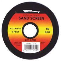 SAND SCREEN 80 GRIT 1-1/2X9FT