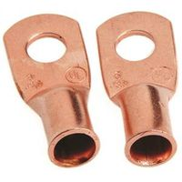 LUG CBL CU NO6 STUD 1/4IN