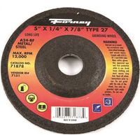 WHEEL GRIND STL 5X1/4IN TYPE27
