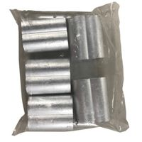 SLEEVE WIRE OVL 5/16IN AL 5/PK