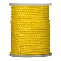 ROPE TWSTD YEL POLY 5/16X975FT