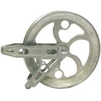 PULLEY BRG 6-1/2IN ZN