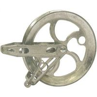 PULLEY CLOTHESLINE MTL 6-1/2IN