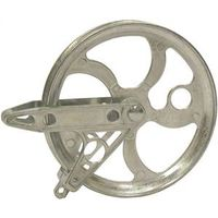 PULLEY CLOTHESLINE MTL 5-1/2IN