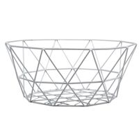 BASKET EGG WHITE 8X5IN