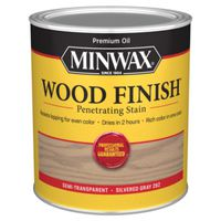 STAIN WOOD SILVERED GRY FINISH
