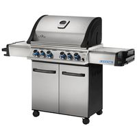 GRILL 4 BURNER 815SQ W/SD-REAR
