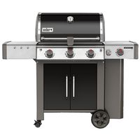 GRILL LP BLK 3-BURNER W/SIDE