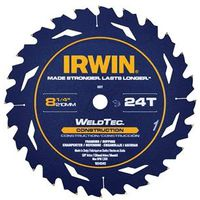 SAW BLADE 8-1/4IN 24T CONST