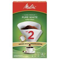 COFFEE FLTR WHT 40/PK